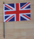 Great Britain Union Jack Country Hand Flag - Medium.